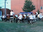 The band in action at Hurkamp Park